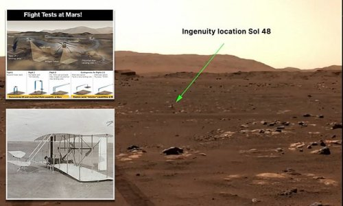 NASA's Ingenuity to attempt its first flight at 12:30pm Mars time