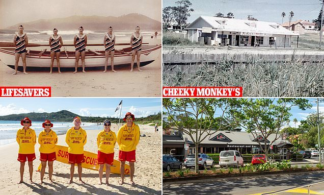 Fascinating images show Byron Bay in its 1960s heyday