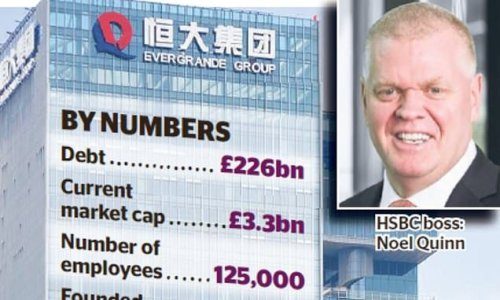 Don't be naive about Evergrande, says HSBC chief Noel Quinn