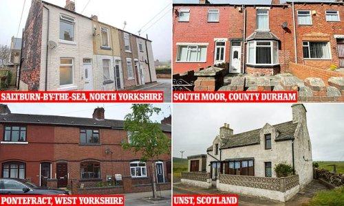 Homes for sale costing £40k, including a Scottish Highlands hideaway