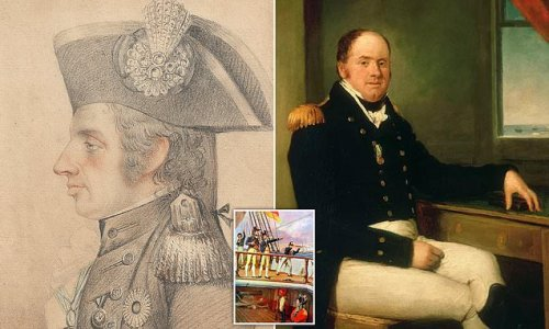 Portrait Lord Nelson gifted to captain Thomas Hardy to fetch £150,000