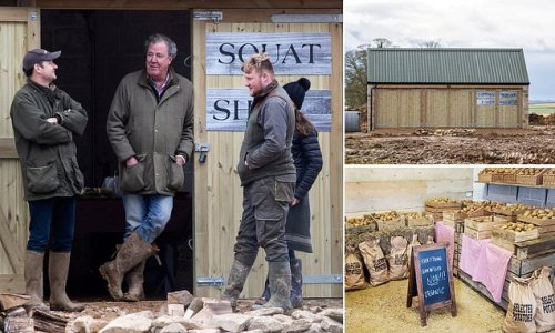 Jeremy Clarkson must rip off roof of his Diddly Squat farm shop