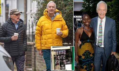 Jon Snow, 73, steps out after announcing he and wife welcomed baby