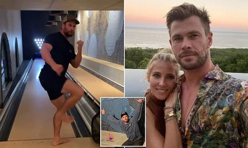 Chris Hemsworth has a $110,000 bowling alley in $30 million mansion