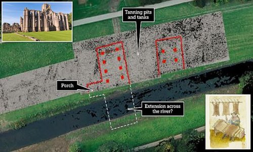 Experts find medieval tannery at Fountains Abbey in North Yorkshire