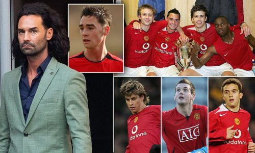 What happened to Chris Eagles' Manchester United youth team-mates?