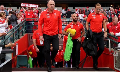 Swans coaches to 'work from home' for big game due to Covid scare