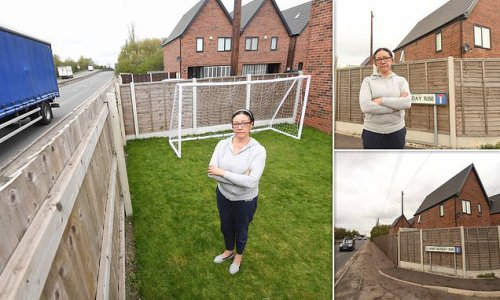 Grandmother, 58, who bought home nine feet from A-road 'feels stupid'