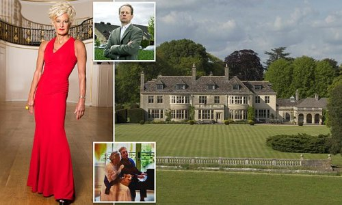 Alison Jackson learned at a party her childhood country pile was sold