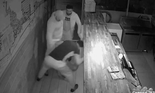 Trio of kebab shop workers who injured suspected burglar are jailed
