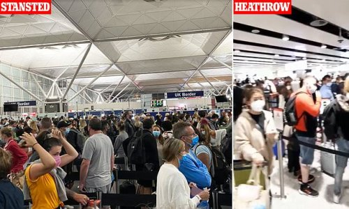 Chaos at airports continues as infuriated passengers face more queues