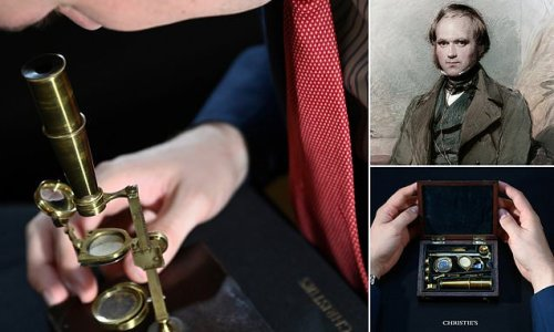 Microscope owned by Charles Darwin expected to sell for up to £350,000