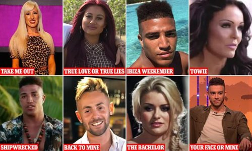 MAFS cast have TEN reality show appearances between them