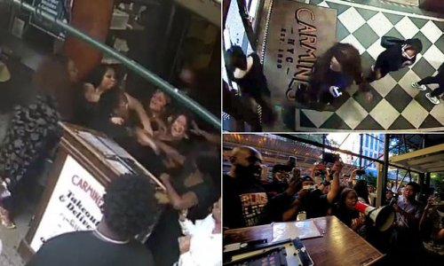 New hostess attacked over racial slur at Carmine's goes AWOL from work