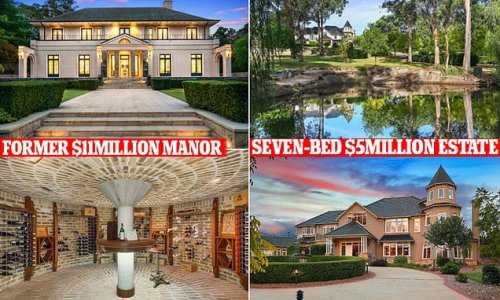 Chinese teen who sold $11million Sydney mansion downsizes to $5M house