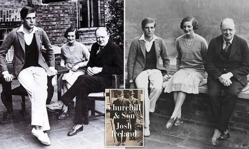 Churchill so doted on his son Randolph that he turned into a brat
