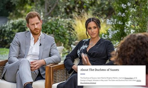 Meghan Makle's bio on Royal Family's website has a mistake in it