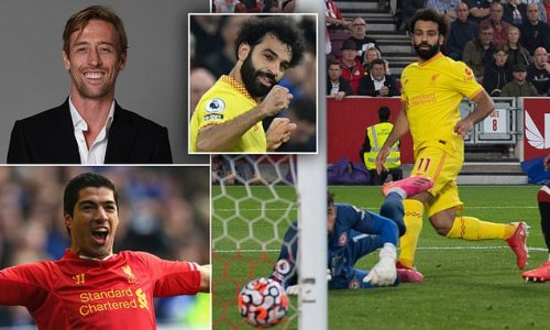PETER CROUCH: Why is Mo Salah not loved like Luis Suarez at Liverpool?