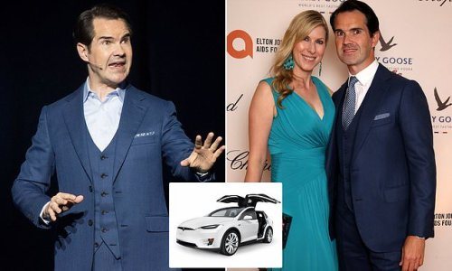 Shattering proof my life really is a Carr crash: Jimmy Carr's memoir