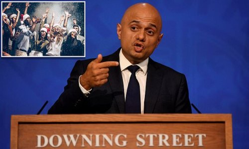 Javid urges Britons to take Covid tests before Christmas parties