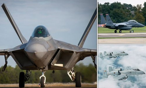 USAF wants to scrap the $150million stealth F-22 fighter jet