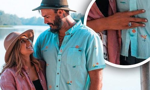 Bachelor lovebirds Locky and Irena spark rumours of an engagement