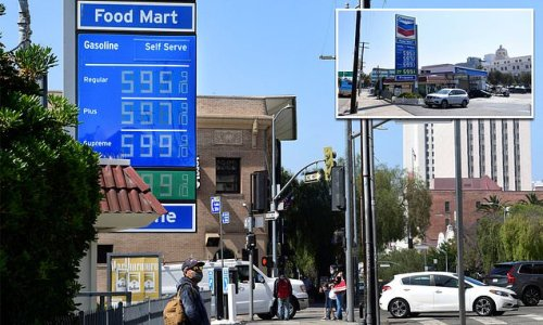 Gas stations begin to run out fuel ahead of the holiday weekend