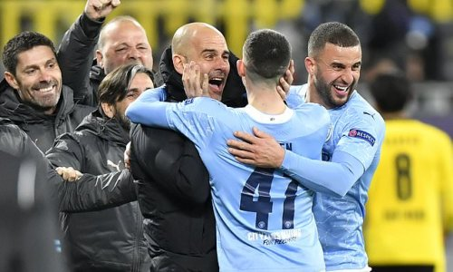 Guardiola lauds City for 'building history' after reaching semi-finals