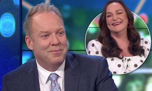 The Project's Peter Helliar got his 'bits stuck in a Hugo Boss suit'