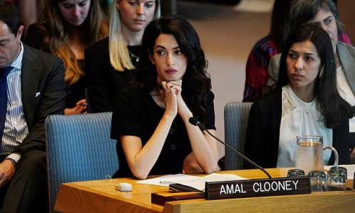 Clooney ensures justice for Yazidi girl, 14, raped while an ISIS slave