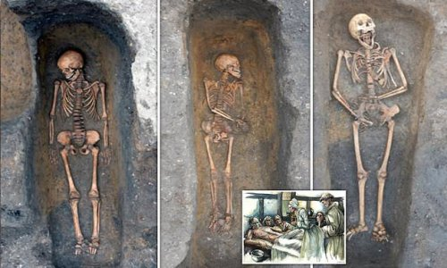 Medieval plague victims were 'buried individually with care'
