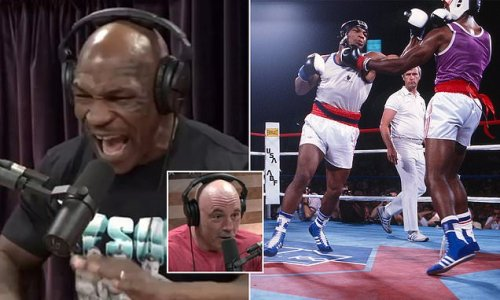 Mike Tyson confesses he had erections from boxing when he was younger
