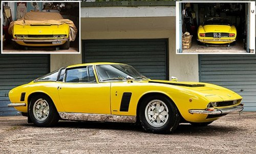 One-owner 1971 Iso Grifo garaged for the last 47 YEARS sells for £345k