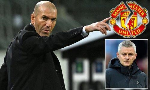 Zinedine Zidane 'not interested' in managing Manchester United