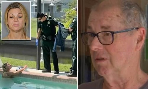 Florida retiree comes home to find a skinny-dipper in his pool
