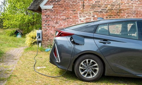 Having an electric car charging point installed at home