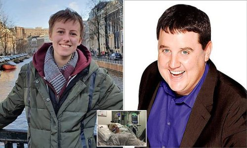 Terminally ill woman, 21, says she 'can't wait' to hug Peter Kay