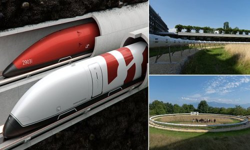 Swiss hyperloop system could get from Geneva to Zurich in 17 minutes
