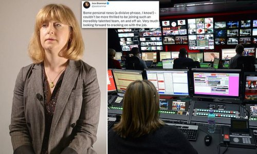 BBC chairman Richard Sharp confirms Jess Brammar HAS been appointed
