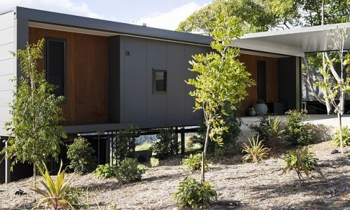 This luxury cabin offers a taste of Scandinavia in Australia