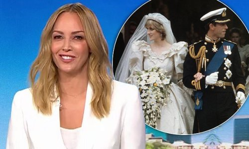 Today show host Sophie Walsh calls Prince Charles a 'cradle snatcher'