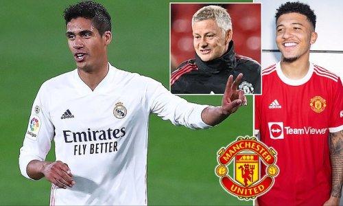 Man United complete £42m deal for Real Madrid defender Raphael Varane