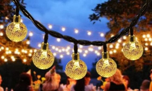 These £13.59 solar string lights will add instant appeal to any garden