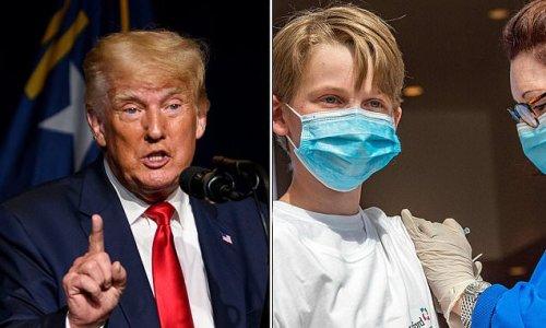 Trump says coronavirus vaccines are potentially dangerous for kids
