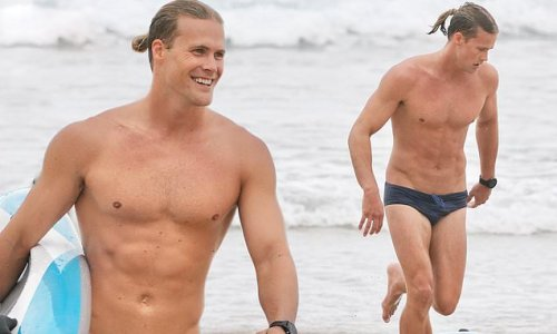 Jett Kenny puts on a brave face as he goes surfing after SAS breakdown