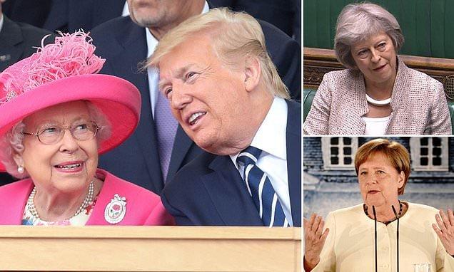 Trump talks to Queen Elizabeth after report he berates female leaders