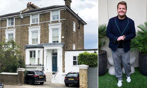 James Corden sells his five-storey north London home