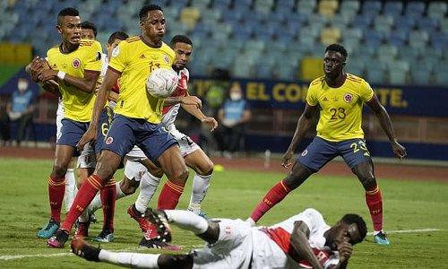 Copa America: Colombia 1-2 Peru - Yerry Mina own goal seals win