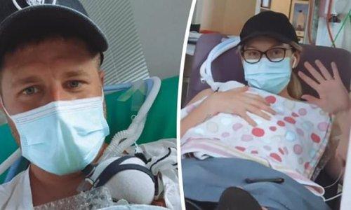 MAFS' Bryce Ruthven and Melissa Rawson cradle premature twin sons