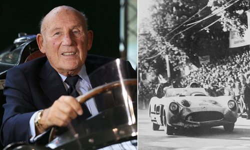 Sir Stirling Moss dies aged 90 as his wife pays tribute